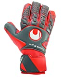 uhlsport AERORED Soft HN Competition Goalkeeper Gloves Size 10 Fluo red
