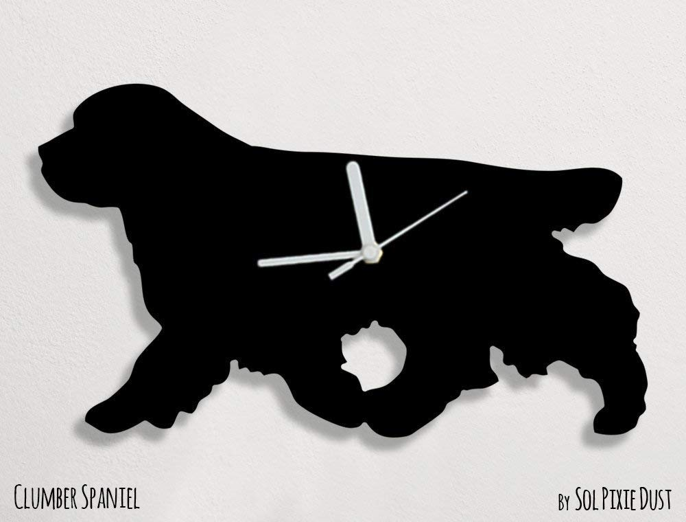 Clumber Spaniel Dog - Wall Clock 1
