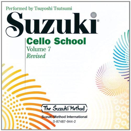 Suzuki Cello School, Vol 7 (Suzuki Violin Bass)