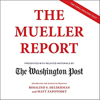 Amazon com: The Mueller Report (Audible Audio Edition): The