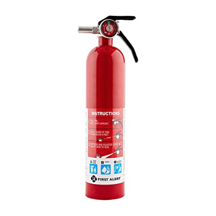 First Alert 1038789 Standard Home Fire Extinguisher Red Amazoncom