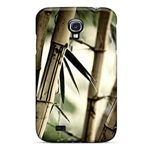 High-end Case Cover Protector For Galaxy S4(bamboo)