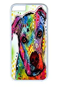 iPhone 6 Case, iPhone 6 Cases -pity pitbull PC case Cover for iPhone 6 and iphone 6 4.7 inch White