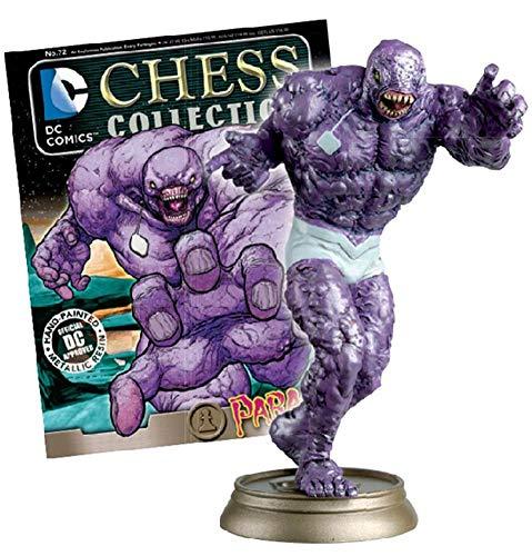 Eaglemoss Publications DC SUPERHERO CHESS FIGURINE COLLECTION MAGAZINE #72 PARASITE - BLACK PAWN