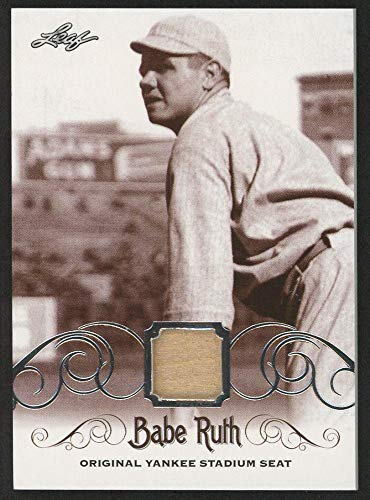Babe Ruth 2016 Leaf #ys-35 Original Yankee Stadium Game Used Seat Trading Card - Baseball Game Used Cards ()