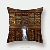 Custom Satin Pillowcase Protector A Wonderful Library Of Old Books Menendez Pelayo In Santander Spain 156209873 Pillow Case Covers Decorative