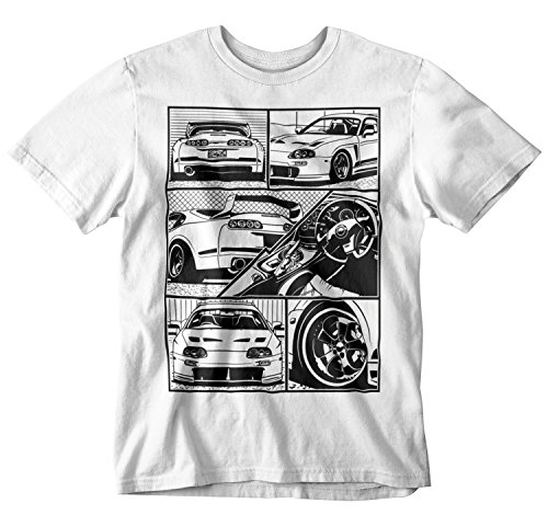 Medium Tuner - Toyota Supra Fragment T-Shirt (Medium)