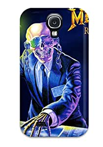First-class Case Cover For Galaxy S4 Dual Protection Cover Megadeth Sending Screen Protector in Free