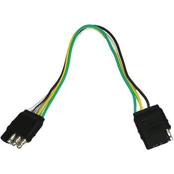 amazon com wesbar 707261 wishbone style trailer wiring harness with rh amazon com