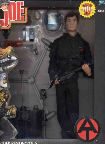 "12 ""GI Joe Adventure Team Black Spider Rendezvous Set con la figura de acción Kung-Fu Grip Colección Timeless"