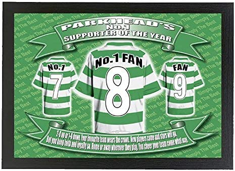 Celtic Football Shirt Lap Tray Gift