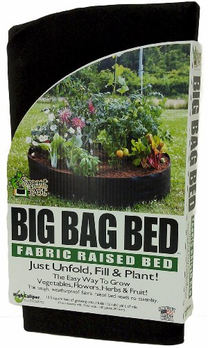 Amazoncom Smart Pots Big Bag Bed Fabric Raised Bed Patio Lawn