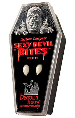 Custom Designer Theatrical Sexy Devil Bites Vampire Love Fangs Dracula Teeth]()