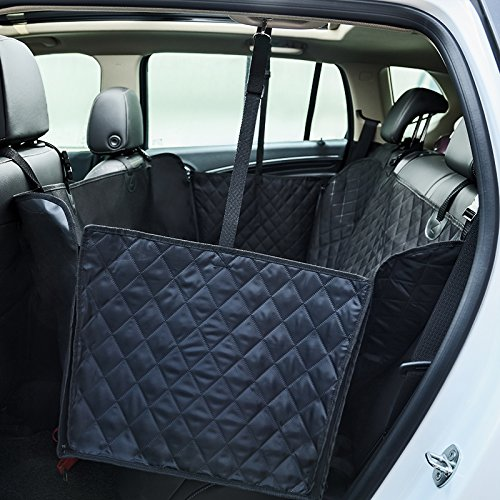 A Puls XL Dog Seat Covers for Cars Rear Seat, SUV Backseat Covers for Dogs, Extra Large Backseat Dog Hammock for Jeep Wrangler and Trucks