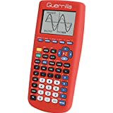 Guerrilla Silicone Case for Texas Instruments TI-83 Plus Graphing Calculator, Red