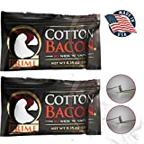 Cotton Bacon Prime Organic Muscle Faster Absorption Vape Wicks for DIY