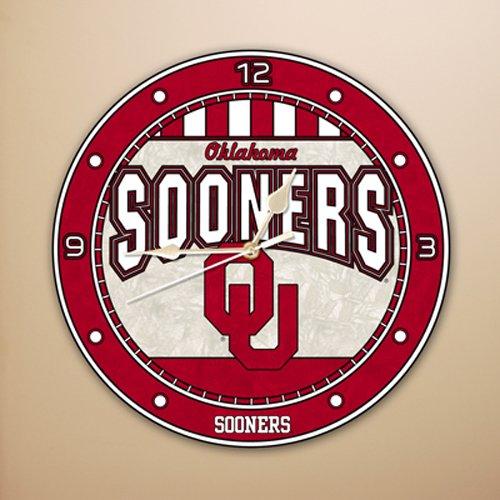 Oklahoma Sooners Wall Clock - Oklahoma 12