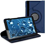 kwmobile Case 360° for Huawei MediaPad T3 7.0 Case with stand - protective tablet cover with standing function in dark blue