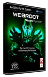 Webroot Internet Security Antivirus for PC Gamers | 2018 |1 Device| 1 Year Subscription | PC