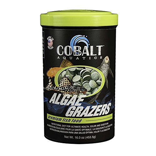 (Cobalt Aquatics Algae Grazers Wafer, 16 oz)