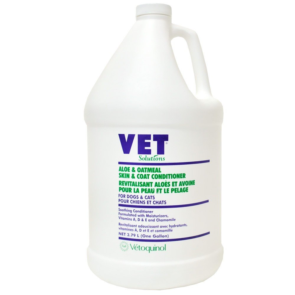 Vet Solutions Aloe Oatmeal Skin Coat Conditioner (Gallon)