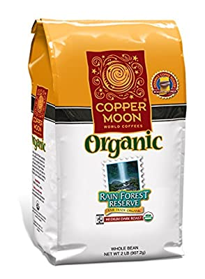Copper Moon Fair Trade Organic Whole Bean Coffee