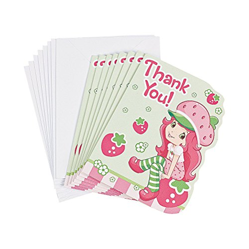 Strawberry Shortcake Thank You Cards