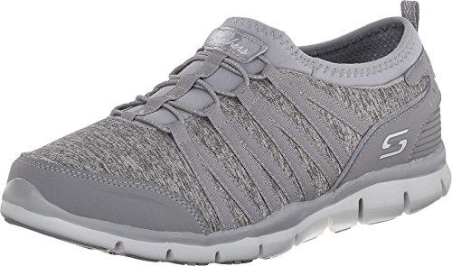 Skechers Gratis Shake It Off Womens Sneakers Gray 6.5