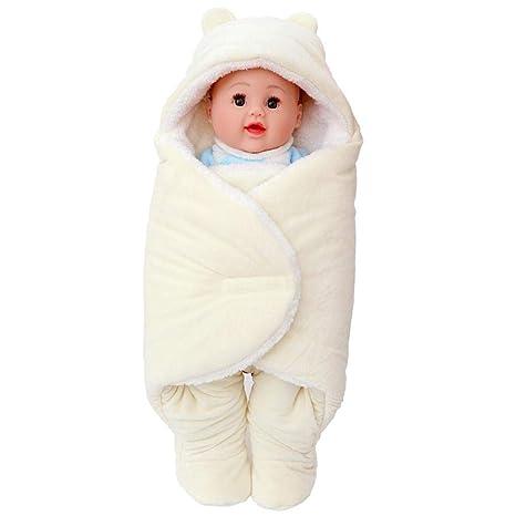 Aolvo - Manta para bebé recién nacido, diseño de patas elásticas ...