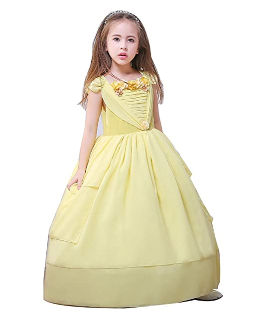b9b17918903 Vivibridal Elegant Flower Girl Dresses Bow Bridal Dress for Toddler Girl   Amazon.ca  Clothing   Accessories