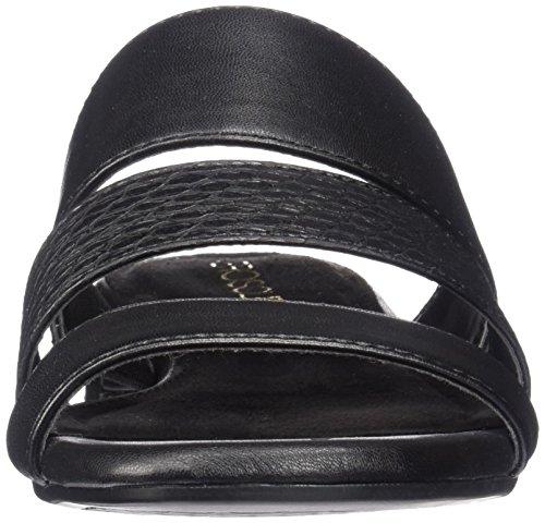 Aerosoles Back Combo Black Down Slide Sandal Women rFZqUw5r