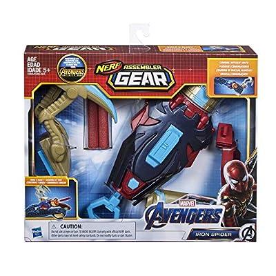 Avengers: Endgame Nerf Iron Spider Assembler Gear: Toys & Games