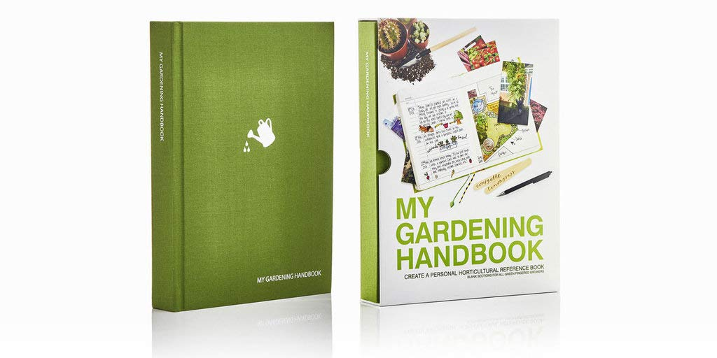 Suck UK My Gardening Handbook - Hardcover Journal for Gardeners and Plant Lovers - Green by Suck UK