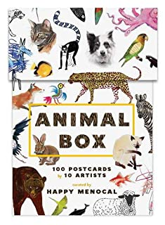 Animal Box: 100 Postcards by 10 Artists (1616893486) | Amazon Products
