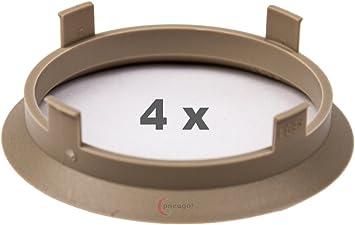 4 X Zentrierringe 60 1 Mm Auf 56 1 Mm Beige Auto