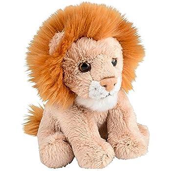 Amazon.com: Aurora World Miyoni – León de peluche, 8