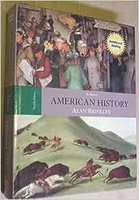 Amazon Com American History A Survey 12th Edition Book Cd Rom A P Us History 9780073280479 Brinkley Alan Books