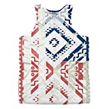 Vintage Ethnic Americana for Mens Tank Top by Peoples Choice Apparel (M)