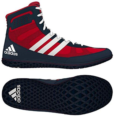 Adidas Mat Wizard.3 Lucha Zapatos, Colegiado Borgoña / negro / oro, 4 M con nosotros Red White Navy