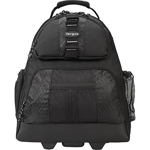 Targus Business and Travel Commuter Rolling Backpack Case for 15.4-Inch Laptop, Black (TSB700)