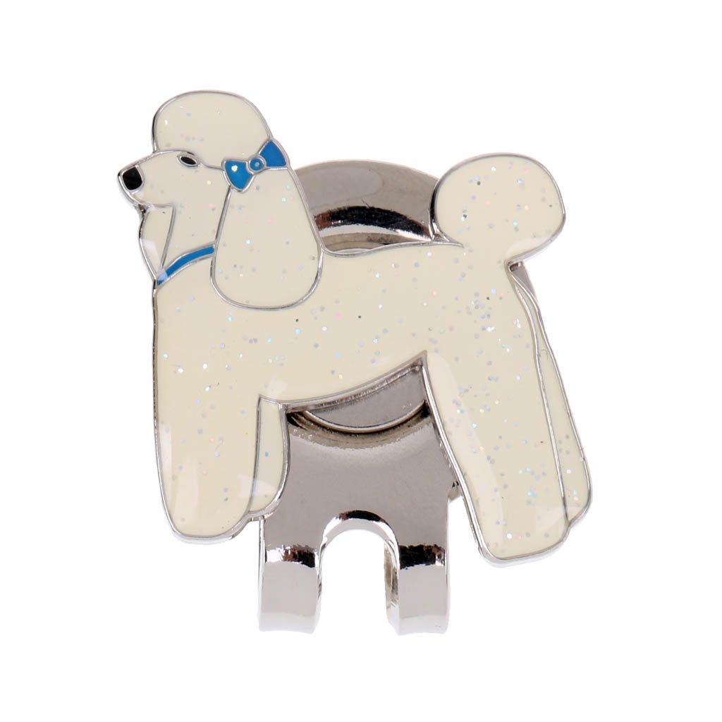 monkeyjackキュートペット犬デザイン磁気帽子クリップゴルフボールマーカーフィットforゴルフキャップバイザーGolferギフト   B075FL1B68