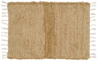 VHC Brands Burlap Natural Chindi Rag Rug, 3 x 5