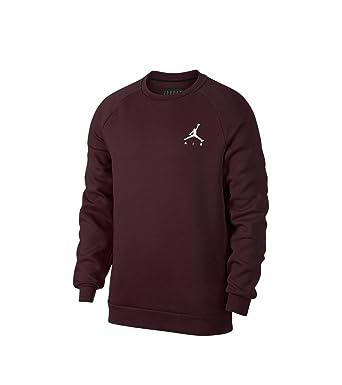 b07bdeb4219a Jordan Sweat Sportswear Jumpman Fleece Bordeaux XL (X-Large): Amazon ...