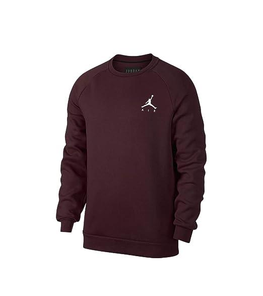 7c45888b44504b Jordan Sportswear Jumpman Fleece Sweater Men Burdeaux  Amazon.co.uk   Clothing