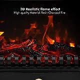 TONGLUBAO Electric Fireplace Stove Freestanding