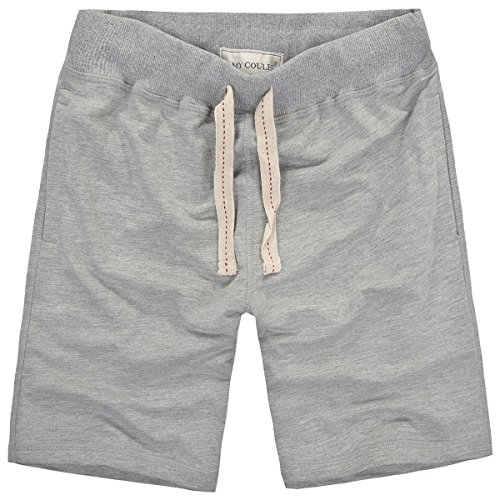 Amy Coulee Men's Classic Jersey Short (L, Gray)
