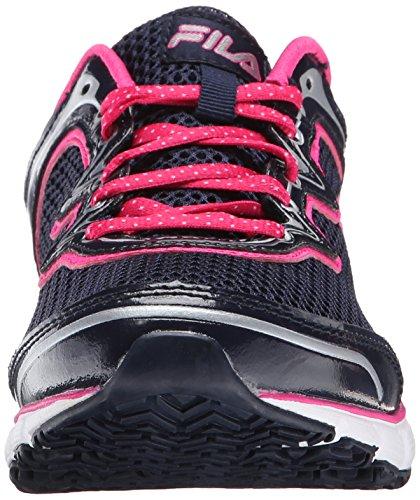 Fila Womens Memory Fresh Start Slip Resistant Work Shoe Fila Navy/Pink Glo/White xJ1FNHaPi