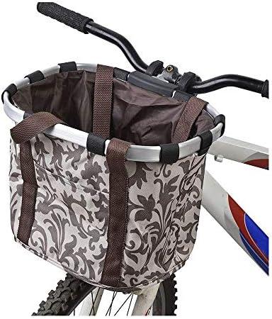Wiiguda@Cesta Delantera de Bicicleta para Perros Bolsa Desmontable ...