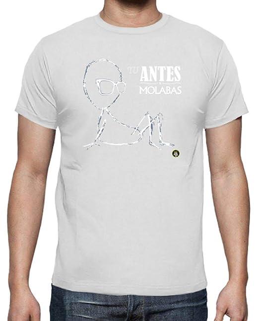 latostadora - Camiseta T Antes Molabas Negro para Hombre Blanco 3XL: Outconsumer: Amazon.es: Ropa y accesorios