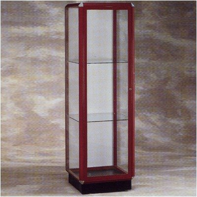 Prominence 442/446 Series Lighted Floor Case Frame: Chrome, Lighting: Without Interior Lighting by Waddell